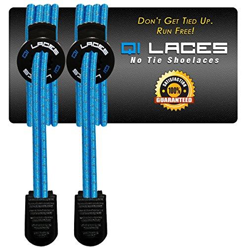 Qi Laces – Elastic No Tie Shoelaces for Kids & Adults