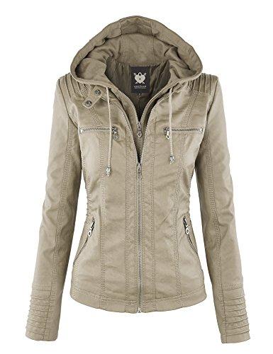 Leather Motorcyle Jacket - 6