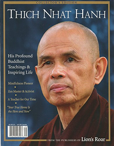 LION'S ROAR COLLECTOR'S EDITION MAGAZINE, THICH NHAT - International Flat Rates Usps