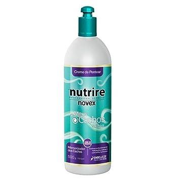 4b19376aa8 Amazon.com : Novex Embelleze My Curls Leave In Conditioner Creme De Pentear  Meus Cachos Soltos 500g : Beauty