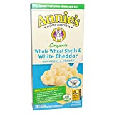 Annie's Homegrown, Organic, Macaroni and Cheese, Whole Wheat Shells and White Cheddar, 6 oz (170 g)(Pack of 6)