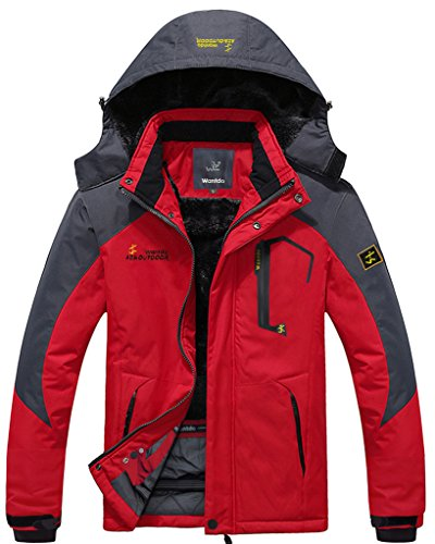 Wantdo-Mens-Waterproof-Mountain-Jacket-Fleece-Windproof-Ski-Jacket