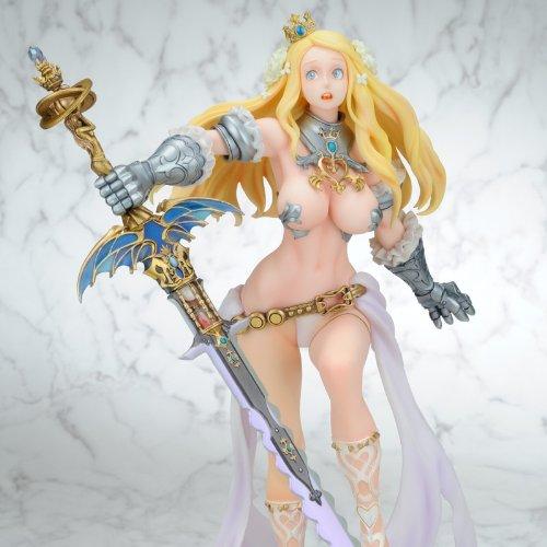 Kinu Nishimura Figure - Code of Princess : Warrior Princess Solange 1/7 Scale PVC Figure >> Empty Web Shop Limited (Charactor Designed by Nishimura Kinu)