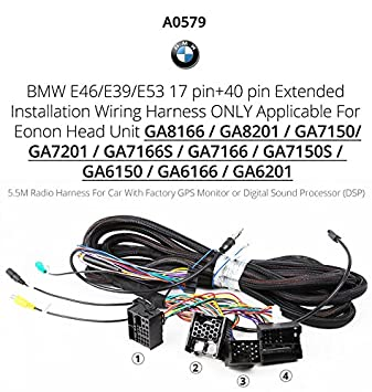 517HcSk6FcL._SY355_ amazon com eonon a0579 extended installation wiring harness for eonon wiring harness at n-0.co