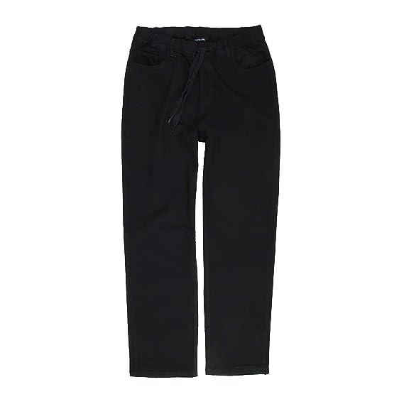 Lavecchia Herren Jeans Hose Schlupfhose mit Kordelzug Übergrössen 3XL-7XL  Größe 4XL, Farbe stone 032a68e3a4