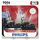 Philips 9006 X-tremeVision Upgrade Headlight Bulb, 2 Pack