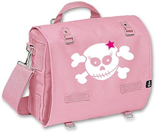 Racker-n-Roll , Borsa Messenger  Uomo-Donna rosa rosa taglia unica