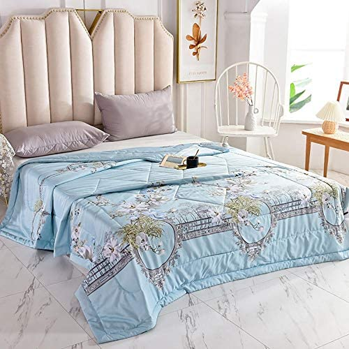 WOAINI Quilts d'été, Kuscheldecke Baby Tagesdecke, Decke Queen Size Quilt Bedding Ultra Soft Microfiber Bed Quilts Quilted Coverlet 180x200cm K