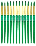 Royal Brush Big Kids Choice Round Paint Brush, Size 8, Pack of 12
