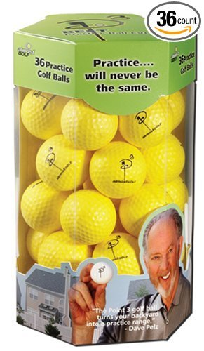 Almost Golf 36 Practice Ball Refill Pack - Yellow ()