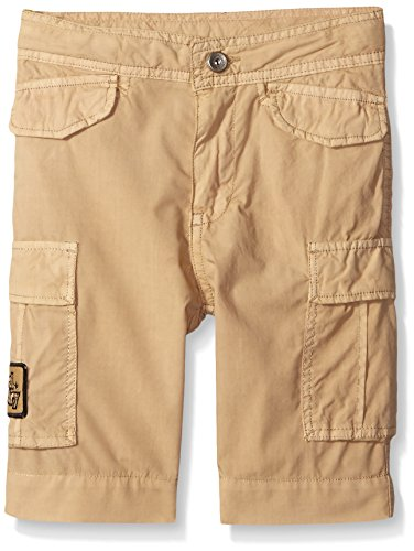 Diesel Big Boys Perty Poplin 6 Pocket Cargo Short, Khaki, 14
