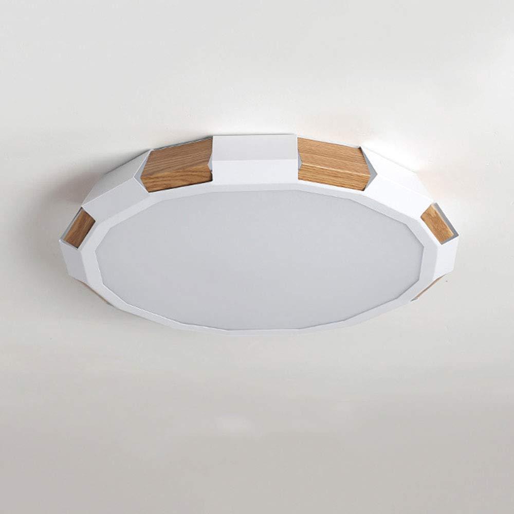 Woerled LED Einfache Moderne Deckenleuchte Kreative Acryl Lampenschirm Panel Runde Eisen Kunst Beleuchtung Beleuchtung Home Business Energiesparende Downlight Retro Augenschutz Strahler
