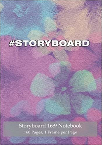 Storyboard 16:9 Notebook 160 Pages 1 Frame per Page: Ideal
