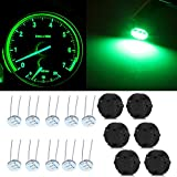 cciyu 6x 27.589 Stepper Motor Gauge Instrument Cluster Repair Kit w/10pcs 7x 27.589 Stepper Motor Gauge Instrument Cluster Repair Kit w/10pcs 4.7mm 3-3014-smd Mini Bulbs Green