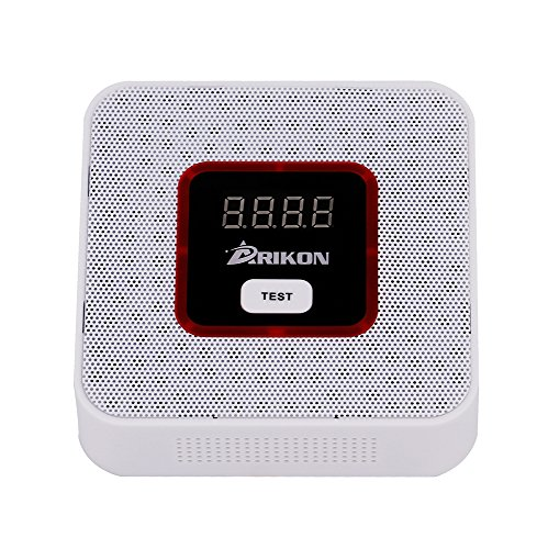 ARIKON Plug-In Combustible Gas Detector Alarm Sensor with Voice Warning,Digital Display - Carbon Monoxide Detector Natural Gas