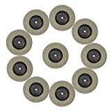 4 1 2 grinder tile blade - Diamond Grinding/Cutting Wheel, 50mm 1.9 inch (10pcs Discs+2shank), Blade Wheel Disc Rotary Tool for Dremel