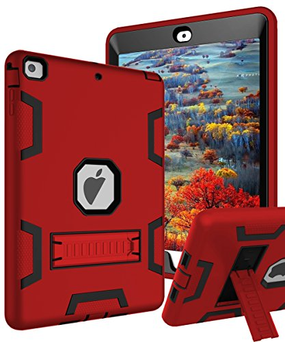 TIANLI Convertible Protective KickStand Red Black product image