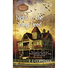 Night of the Living Deed Audiobook by E.J. Copperman Narrated by Amanda Ronconi