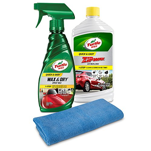 Turtle Wax 50823 Quick & Easy Wash & Wax Kit