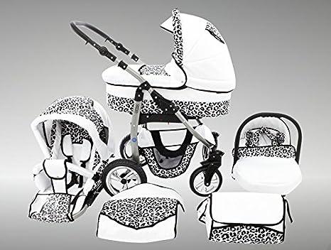 Chilly Kids Dino Cochecito de bebé combinado 3 en 1 - Cochecito de bebé y silla de ...