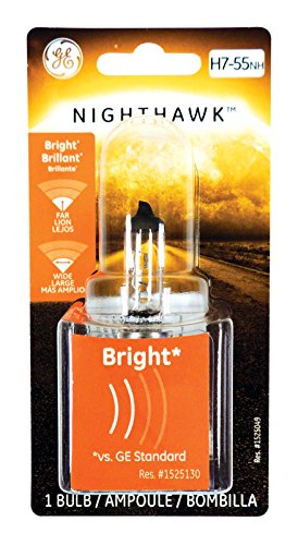 GE Lighting H7-55NH/BP Nighthawk Automotive Replacement Bulb