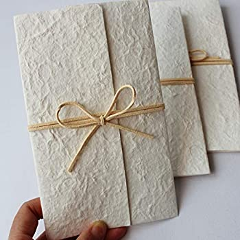 Unquie Wedding Invitations.Picky Bride Vintage Off White Wedding Invitations With Envelopes Rustic Invitations For Unique