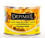 Depimiel Brazilian Soft Wax, Passion Fruit, 14 oz by Depimiel