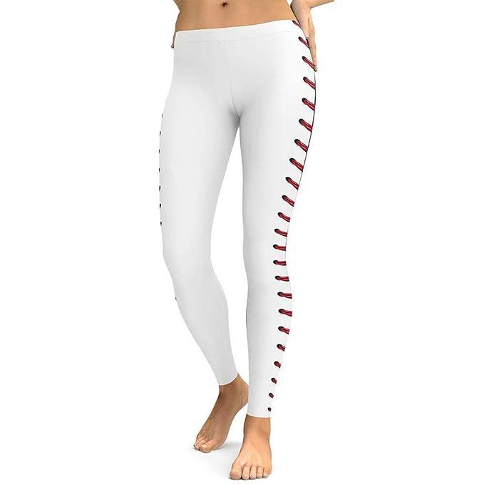 ABsolute Leggings Pantalones de Yoga para Mujer Mujer con ...