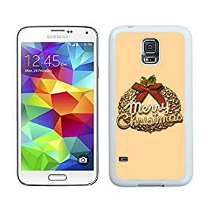 Recommend Design Christmas Wreath White Samsung Galaxy S5 Case 3