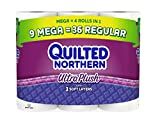 northern quilted - Quilted Northern Ultra Plush Bath Tissue, 9 Count