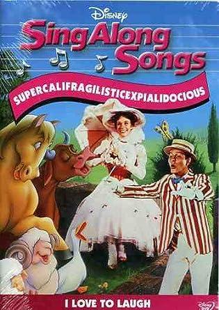 Amazon Com Sing Along Songs Supercalifragilisticexpialidocious I