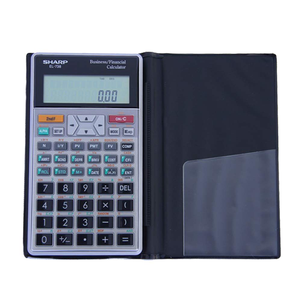 Office Supplies Financial Calculator, Function Calculator, Portable Financial Special Calculator, Suitable for Engineering Test Accounting Statistics ZDDAB by Office Supplies