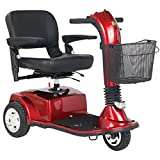 Golden Technologies - Companion - Full-Sized Scooter - 3-Wheel - Red