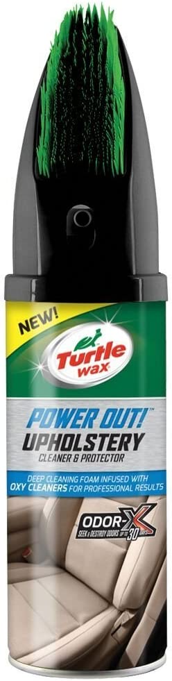 Turtle Wax 52736 Power Out Car Interior Stain Clean & Odor Remover 400ml