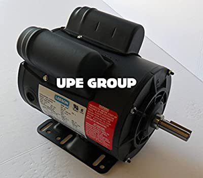 5HP SPL LEESON 56 Frame ELECTRIC MOTOR Replaces Air Compressor Motor - Century Motor # B385