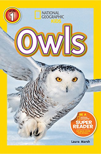 Kids Owl - National Geographic Readers: Owls