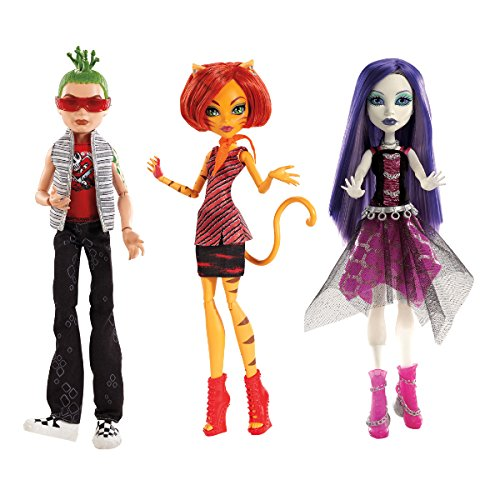 Monster High Ghouls Alive! Clawdeen Wolf]()