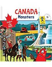 Canada Monsters: A Search and Find Book