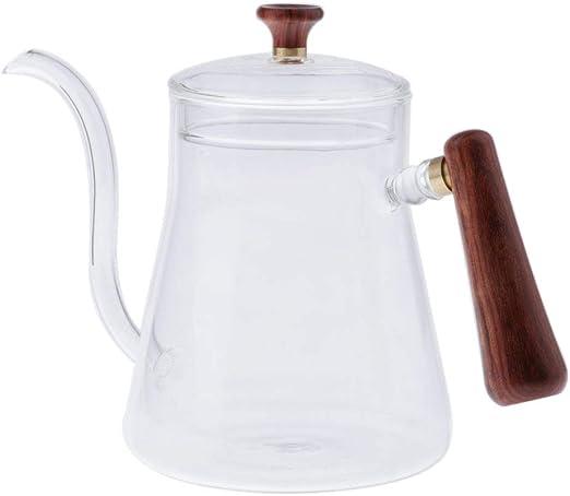 Cafetera de Goteo Manual, Tetera de Vidrio Conveniente para Cocina ...