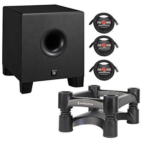 yamaha hs8s powered studio subwoofer 8 3 xlr to xlr cables. Black Bedroom Furniture Sets. Home Design Ideas