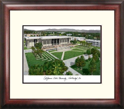 (Campus Images CA924R California State University, Northridge Alumnus Framed Lithographic Print)