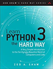 You Will Learn Python 3!    Zed Shaw has perfected the world's best system for learning Python 3. Follow it and you will succeed—just like the millions of beginners Zed has taught to date! You bring the discipline, commitment, and persistenc...