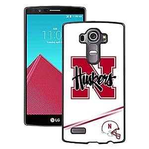 Hot Sale LG G4 Case ,Popular Unique Designed Case With Ncaa Big Ten Conference Football Nebraska Cornhuskers 10 Black For LG G4 Case High Quality Phone Case