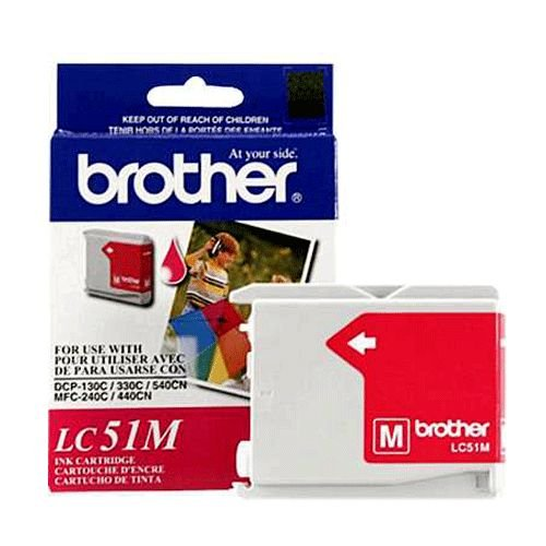 Brother LC51MS Magenta Ink Cartridge
