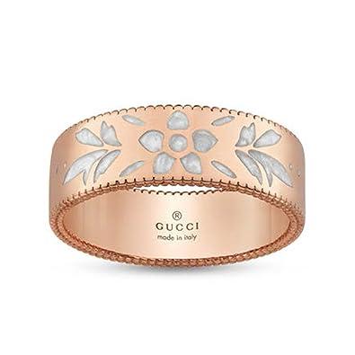 64bc6722 Amazon.com: GUCCI ICON BLOSSOM ring 6 mm YBC434525002016: Jewelry