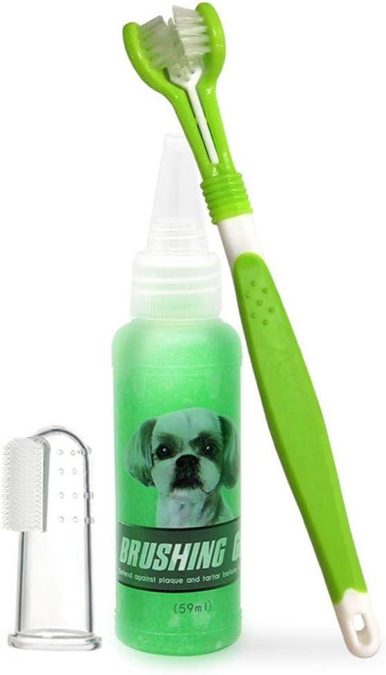 certainoly Toothstone Buster Gel de Limpieza para Mascotas Cepillo ...