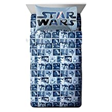 Lucas Film 4 Piece Classic Space Battle Full Sheet Set