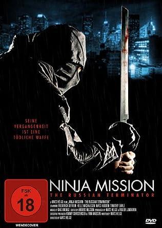 Amazon.com: Ninja Mission: Russian Terminator [Region 2 ...