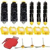 Filters Brush Kit - SODIAL(R) Filters Pack 3 Armed Side Brush Kit For iRobot Roomba Vacuum 700 760 770 780
