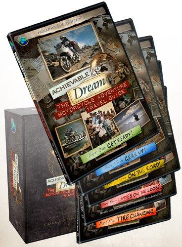 Adventure Collectors Set - Achievable Dream - Motorcycle Adventure Travel Guide - Collectors Set